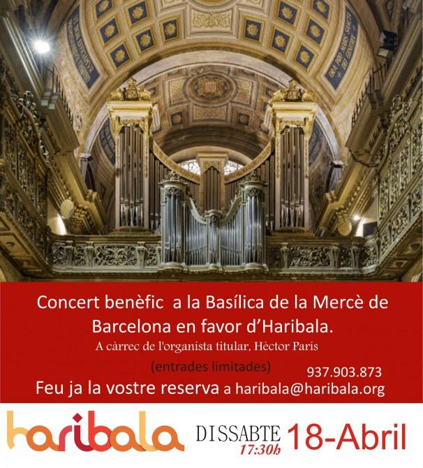 concert basilica de la Mercè